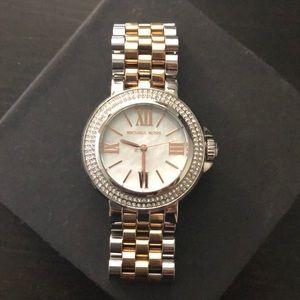 Michael Kors tricolor wrist watch - women's